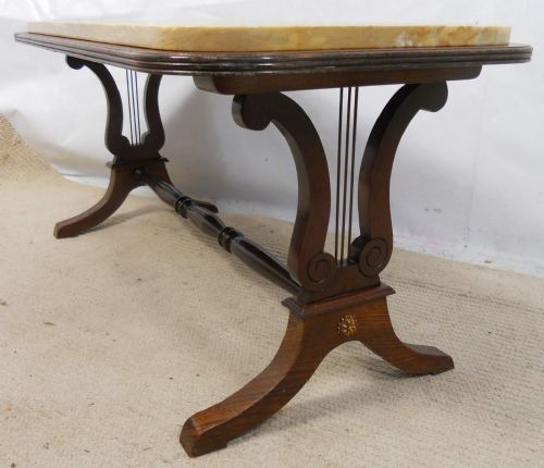 Kimball Marble Coffee Table: Coffee Tables, Furniture, Round Table, Living Room Furniture